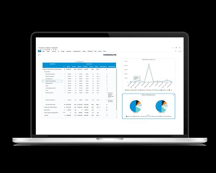 Dashboard til kundeanalyse